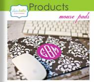 Clairebella Monogrammed Mouse Pad - What A Great Gift For The Office Girls!