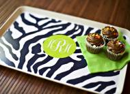 Clairebella Monogrammed Tray Design Your Own