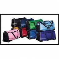 Larger Tri Colored Sports Duffle