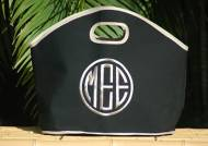 GG Bar Harbor Black Tote  With Linen ColoredThree Great Sizes.