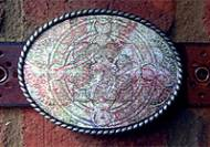Discontinued - Loopty Loo Parchment Belt Buckle