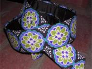 Discontinued - Loopty Loo Orchid Fabric Belt