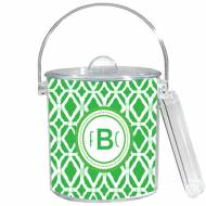 Lilly Pulitzer Personalized Ice Bucket In Private Party Pattern
