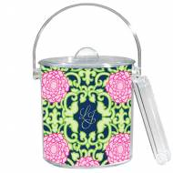 Lilly Pulitzer Personalized Ice Bucket In Private Property Pattern