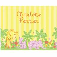 Lilly Pulitzer Foldover Note Animal Parade