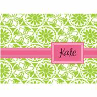 Lilly Pulitzer Foldover Note Winter Green