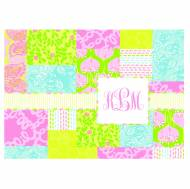 Lilly Pulitzer Foldover Note Bees Knees Patch