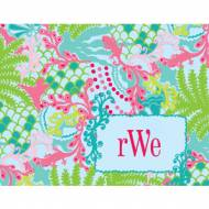 Lilly Pulitzer Foldover Note Checking In