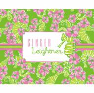 Lilly Pulitzer Foldover Note Floaters