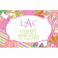 Lilly Pulitzer Personalized Stickers Buy Local