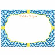 Lilly Pulitzer Personalized Correspondence Cards Bamboo Blue