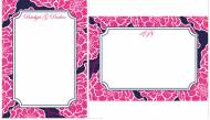 Lilly Pulitzer Personalized Correspondence Cards Cloud Nine