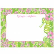 Lilly Pulitzer Personalized Correspondence Cards Floaters