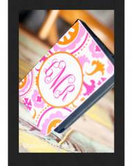 Monogrammed Kindle, Kindle 3, And Kindle Fire Case From The Pink Monogram