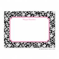 Petite Flower Midnight Flat Card
