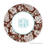Savannah Chocolate Melamine Plate