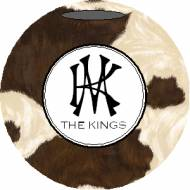 Lovie And Dodge Personalized Ornament Cowhide