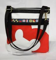 Personalized Ella Vickers Sailcloth Metro Bag
