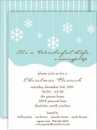Flurry Invitation