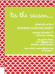Holiday Splash Invitation