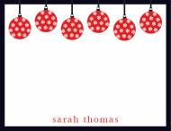 Ornament Correspondence Card