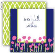 Garden Blossom Enclosure Cards With Envelopes