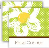 Plumeria Enclosure Cards With Envelopes