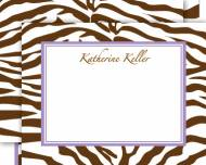 Safari Correspondence Card