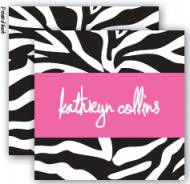 Zebra Enclosure Cards With Envelopes