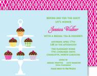 Couture Cupcakes Invitation