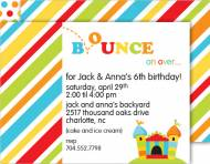 Bounce Invitation