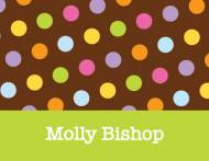 Molly's Dots Foldover Note Card