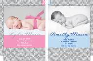 M. Middleton Diamonds Birth Announcements