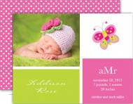 M. Middleton Addison's Blocks Birth Announcement