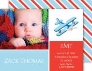 M. Middleton Zack's Blocks Birth Announcement