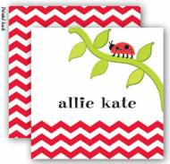 Little Ladybug Enclosure Cards With Envelopes