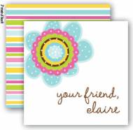 Flower Pop Enclosure Cards With Envelopes