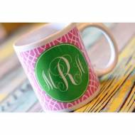 Monogrammed Coffee Mugs