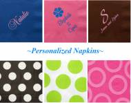 Personalized Napkins For Large Quantity Orders