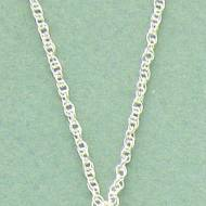 Perfect Sterling Silver Rope Chain In 16 To 24 Inch Lengths For Pendants And Charms