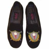 Needlepoint Golf Crest Loafer For Men By Paige