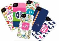 Boatman Geller Monogrammed Cell Phone Cases
