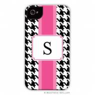 Alex Houndstooth Black Cell Phone Case