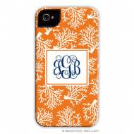 Coral Repeat Cell Phone Case