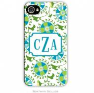Suzani Teal Cell Phone Case