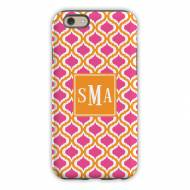 Kate Raspberry & Tangerine Cell Phone Case