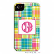 Madras Patch Bright Cell Phone Case