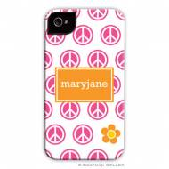 Peace Repeat Cell Phone Case