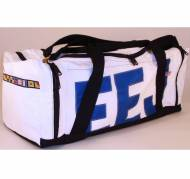Personalized Ella Vickers Sailcloth Excursion Duffle