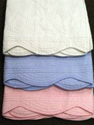 Monogrammed Blanket Or Crib Quilt
